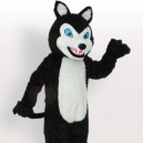 Supply Little Black Wolf Adult Mascot Costume