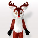 Supply Little Reindeer Brown Adult Mascot Costume