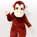 Supply Lovely Chimpanzee Adult Mascot Costume