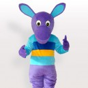 Supply Purple Kangaroo Adult Mascot Costume