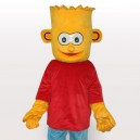 Supply Simpson's Son Short Plush Adult Mascot Costume