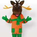 Supply Top Merry Moose Mascot Adult Costume