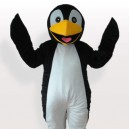 Supply Black Penguin Adult Mascot Costume