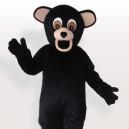 Supply Black Bear Adult Mascot Costume