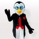 Supply Doctor Penguin in Tuxedo Adult Mascot Costume