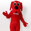 Supply Red Dog Adult Mascot Costume