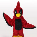 Supply Red Hawk Short Plush Adult Mascot Costume