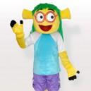 Supply Smiling Wen Dudu Blue Dress Adult Mascot Costume