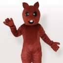 Supply Squirrel Bear Brown Adult Mascot Costume