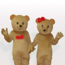 Supply The Brown Bear Couples Adult Mascot Costume