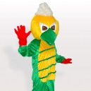 The Kinky Bird Adult Mascot Costume