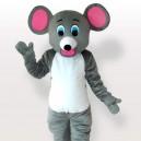 Little Grey Mice Adult Mascot Costume