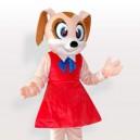 Mini Mouse Adult Mascot Costume