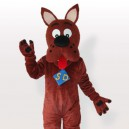 Scooby dog Adult Mascot Costume