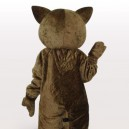 Strange Lynx Short Plush Adult Mascot Costume