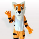 Supply White Belly Tiger Adult Mascot Costume