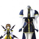 Supply Magical Girl Lyrical Nanoha Hayate Yagami Fighting Halloween Cosplay Costume
