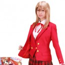 Supply Negima! Magister Negi Magi Sayo Aisaka Winter Uniform Halloween Cosplay Costume