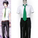 Supply Short Sleeves Starry Sky Seigatsu Academy Male Summer Uniform Halloween Cosplay Costume