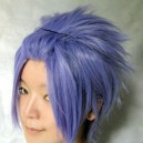 Supply StarrySky Eggplant Purple Short Wig