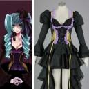 Vocaloid Hatsune Miku Two-piece Anime Halloween Cosplay Costumes
