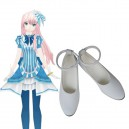 Vocaloid Luka Imitated Leather Halloween Cosplay Shoes