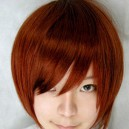 Supply Vocaloid meiko red brown wig
