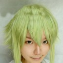 Supply Vocaloid Gumi - Megpoid green medium-length wig