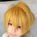 Supply Vocaloid Len Golden Wig
