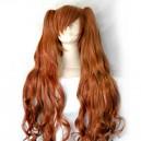 Vocaloid Miku Magnet Orange Brown Long Curly Hair