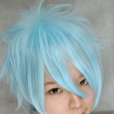 "Supply Vocaloid kaito TYPE ""H"" blue wig"