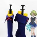 Supply AKB0048 Suzuko Kanzaki Blue Cosplay Boots