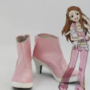 Supply Idolm@ster Iori Minase Pink Female Hight Heel Cosplay Boots