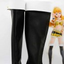 Supply Idolm@ster Miki Hoshii Black & White Cosplay Boots