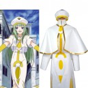ARIA The Animation Alice Carroll White&Golden Cosplay Costume