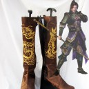 Supply Dynasty Warriors Cosplay Jiang Wei Leather Cosplay Boots