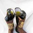 Dynasty Warriors Cosplay Jiang Wei Leather Cosplay Boots