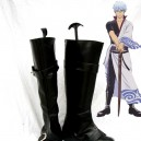 Supply Silver Soul Cosplay Shoes Sakata Gintoki  Cosplay Boots