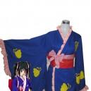 Supply Silver Soul Cosplay Yagyu Kyubei Pretty Kimono Cosplay Costume