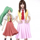 Supply Higurashi no Naku Koro ni Cosplay Mion Sonozaki Cosplay Costume