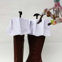 Supply One Piece Cospla Jewelry Bonney Artificial Leather Cosplay Boots