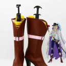 Supply One Piece Cosplay Cavendish Hight Heel Cosplay Boots