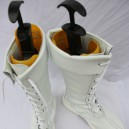 Street Fighter Cosplay Chun-Li White Cosplay Boots
