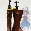 Supply Touhou Project Cosplay Cirno's Artificial Leather Cosplay Boots