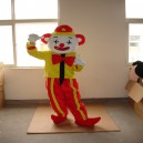Supply Clown Cartoon Walking Doll Clothing Cartoon Dolls Doll Costumes Cartoon Costumes Mascot Costume