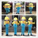 Supply Despicable Me 2 Despicable Me Little Yellow Peas Clothing Walking Cartoon Cartoon Doll Clothing Doll Clothing Mascot Costume