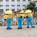 Supply Small Yellow People Walking Doll Clothing Doll Clothing Cartoon Despicable Me Huang Doudou Little Yellow People Despicable Me Clothing Mascot Costume