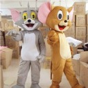 Supply Tom and Jerry Cartoon Dolls Clothing Walking Propaganda Props Cartoon Clothing Cat Jerry Mouse Costume Mascot Costume