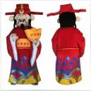 Treasurer Cartoon Walking Doll Clothing Doll Clothing Cartoon Doll Costumes Fortuna Mascot Costume