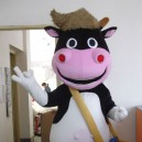 Supply Cartoon Clothing Performance Clothing Costumes Children #39 S Photography Cow Mascot Costume